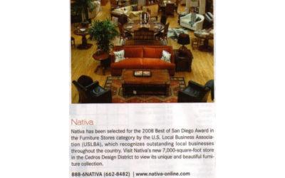 San Diego Magazine – Nativa
