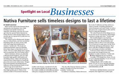 Nativa Furniture Editorial