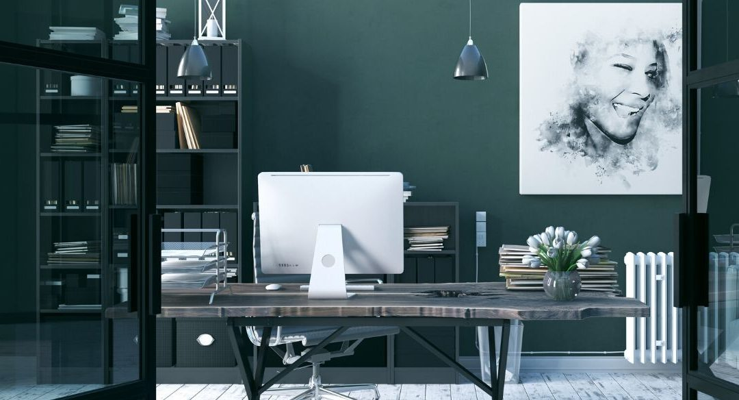 8 ways to create a stylish home office
