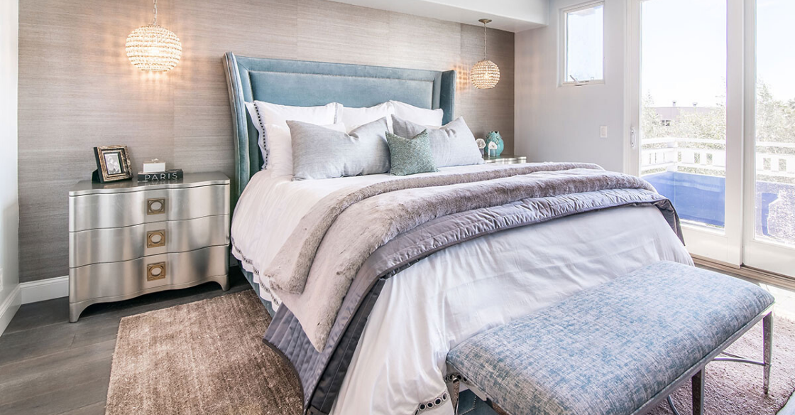 Resort grade linens give your home a luxe resort feel