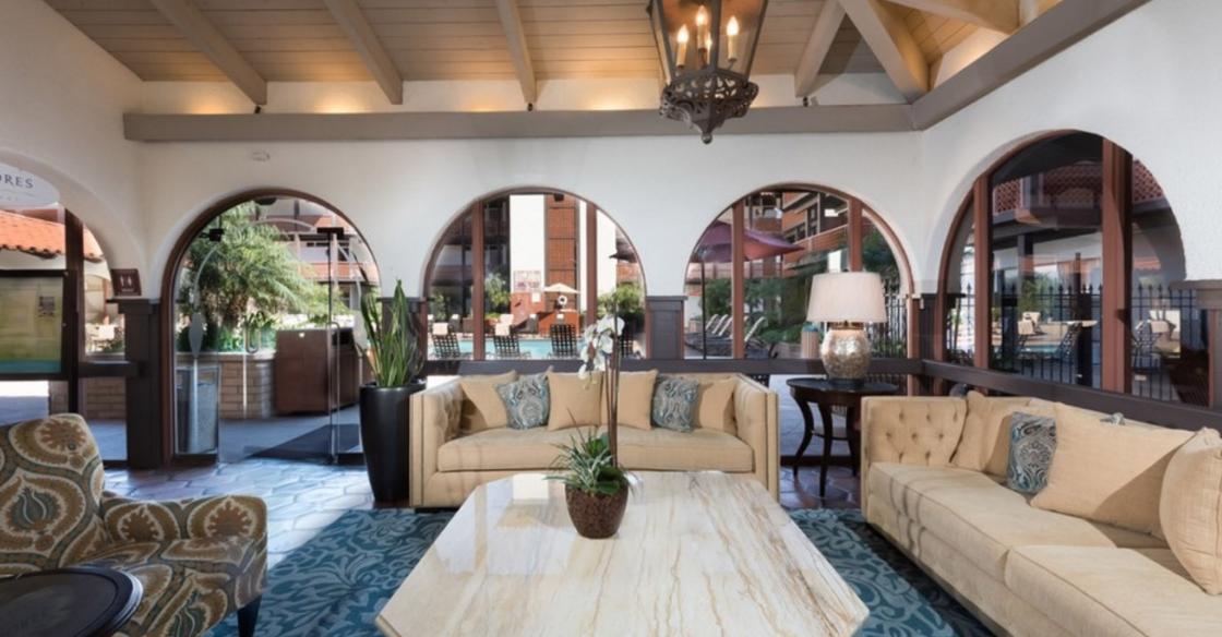 La Jolla Shores lobby designed by Nativa