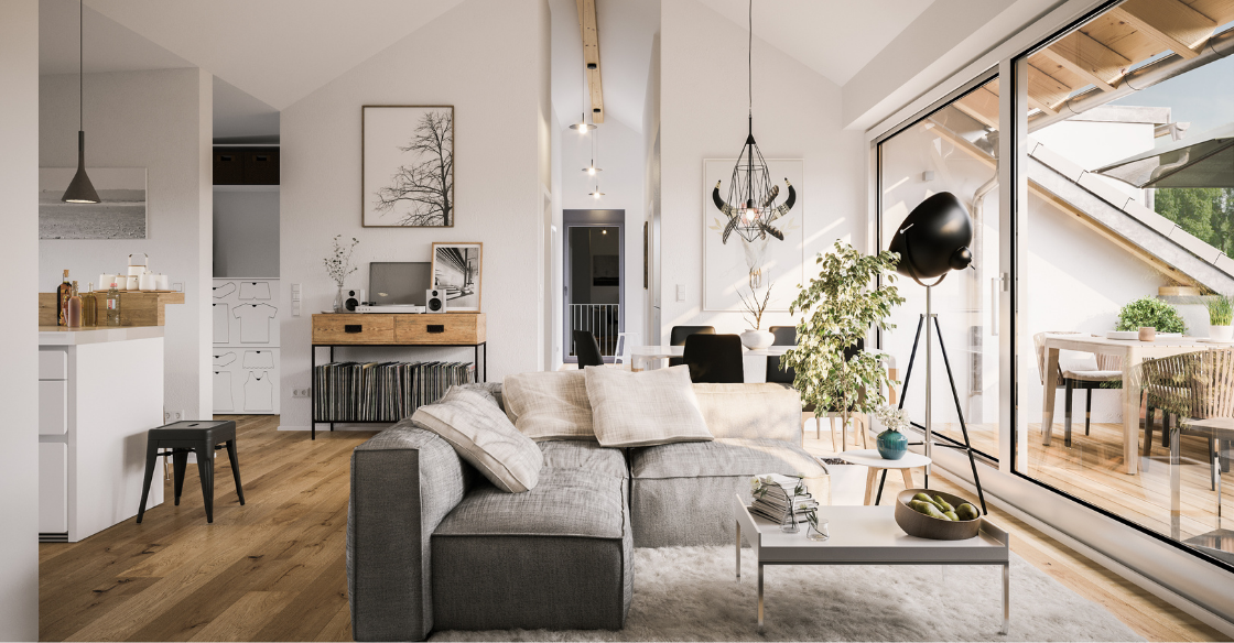 Living room by an interior designer