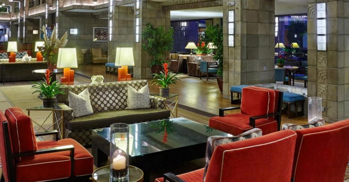 Arizona Biltmore Hotel lobby designed by Nativa
