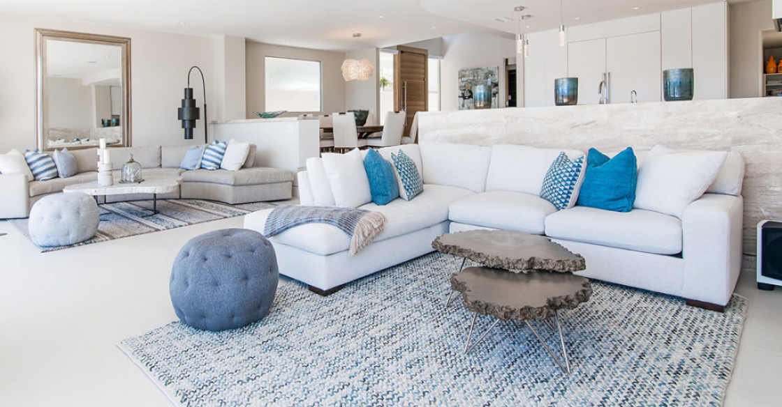 Nativa designed living room