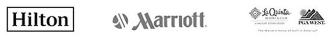 Clients: Hilton, Marriott, La Quinta, PGA West