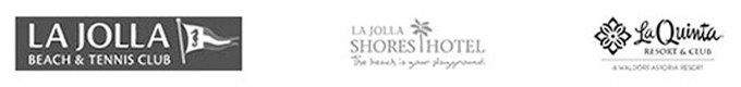 Clients: La Jolla Beach & Tennis Club, La Jolla Shores Hotel, La Quinta Resort & Club