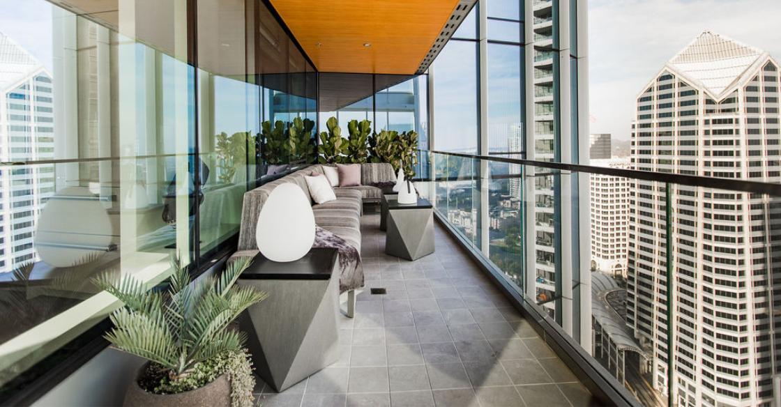 Nativa designed patio in San Diego, CA