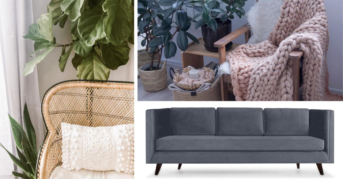 textures, details and furniture found in Scandinavian design