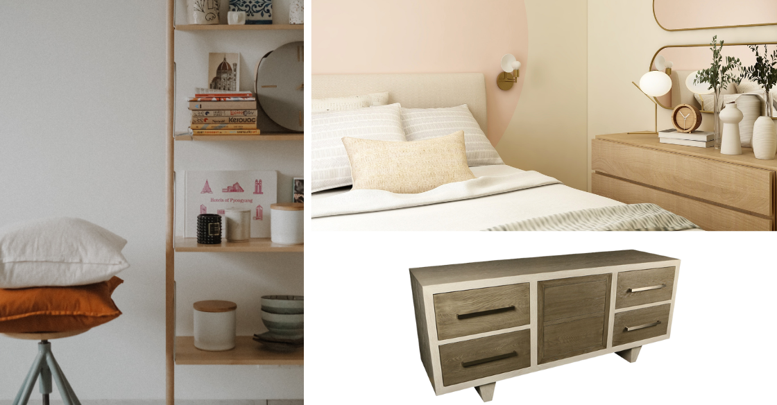 Scandinavian inspired multifunctional furniture pieces