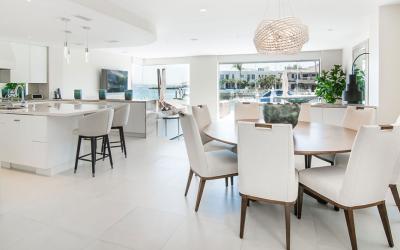 San Diego Interior Design Project:  A Beautiful Waterfront View in Coronado, CA