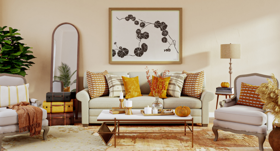 6 Best Colors for Fall Home Decor